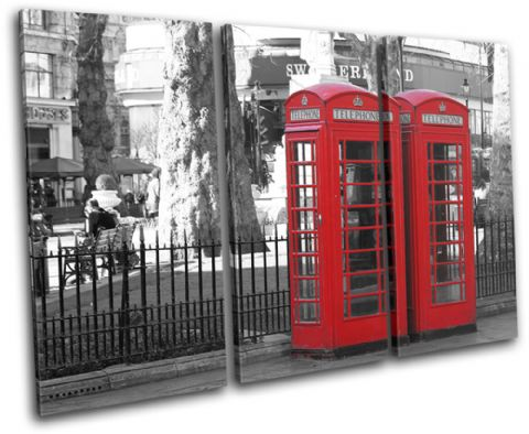 London Telephone Box Landmarks - 13-1262(00B)-TR32-LO